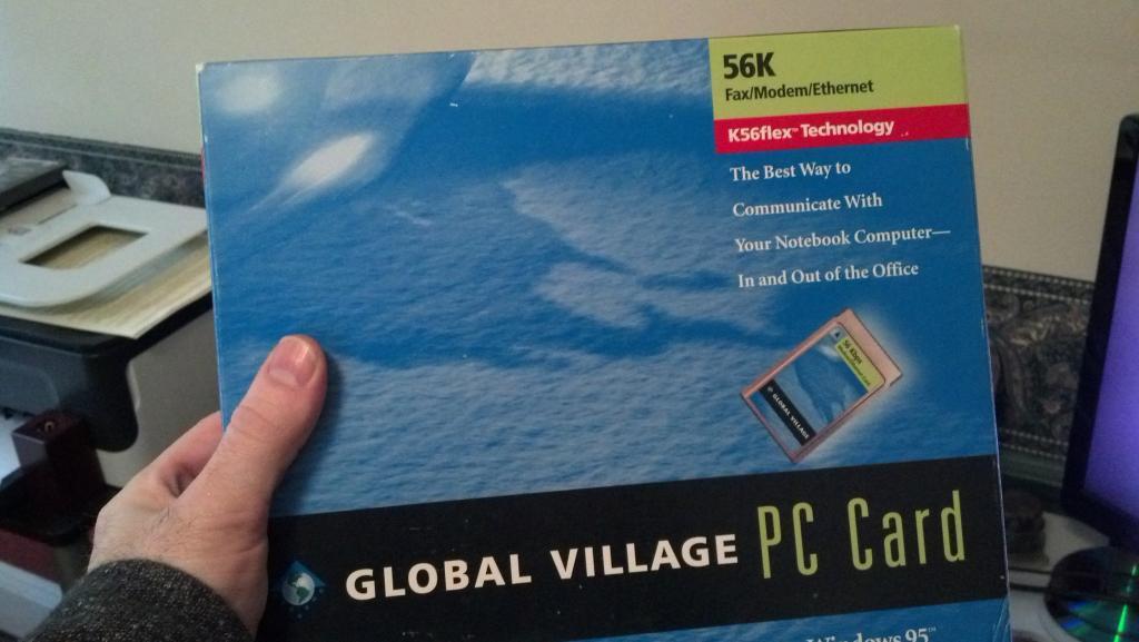 56K PCMCIA Card