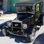A 1927 Ford Model T.  Black, of course.