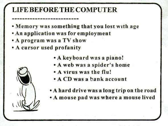 Before There were PCs