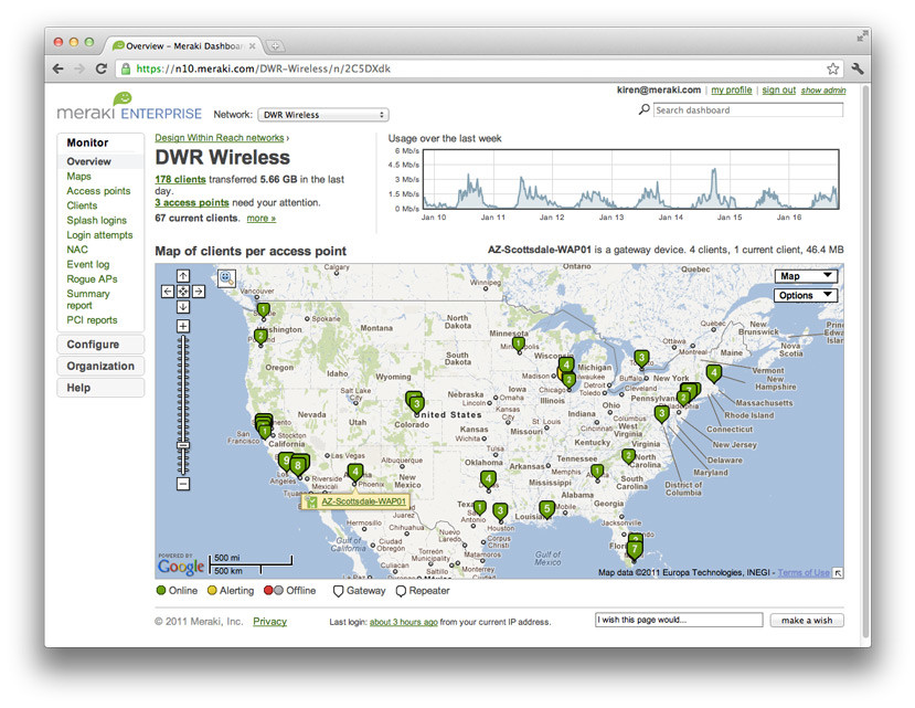 Cisco Meraki Built-in Multisite Management