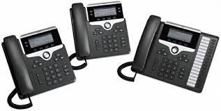 Cisco 7800 Series Unified IP Phones